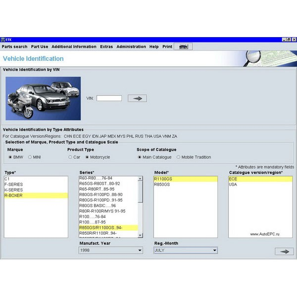 bmw etk 09/2013 electronic spare parts catalogue software dvd