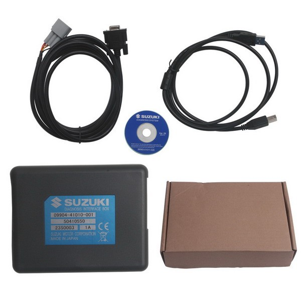 SDS Suzuki motorcycle diagnostic system Whole Package