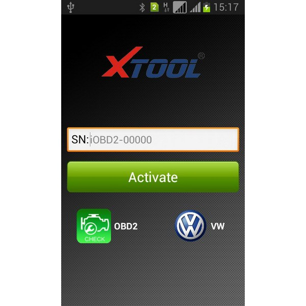 iobd vw andriod scanner software screen