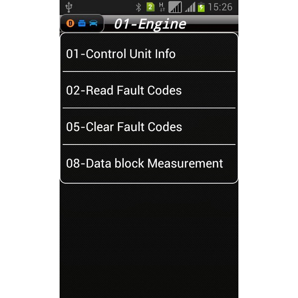 iobd vw andriod scanner for engine