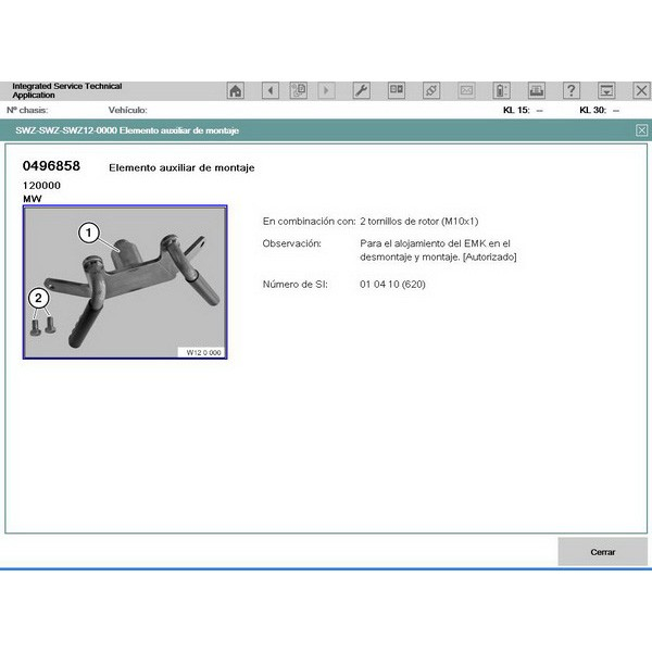 BMW ICOM Spanish Software Hard disk 10/2013 istad 3.39.30 istap 50.4.002 WDS