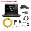 ICOM With Laptop Lenovo E49