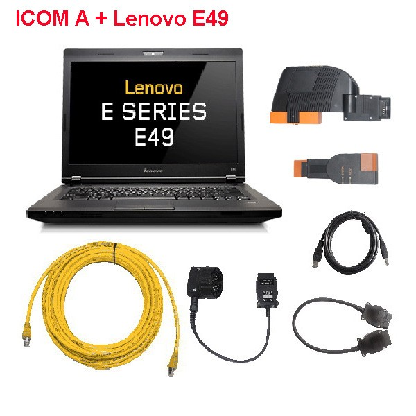 ICOM With Laptop Lenovo E49 On Win 8.1 System 2016-07