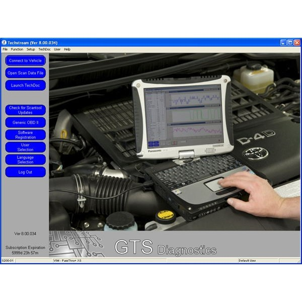 Toyota Techstream V8.20.019 (7.2013) Free Download