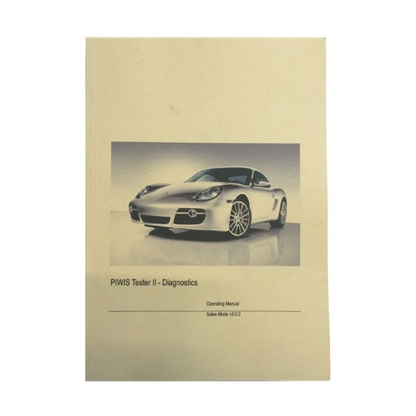 Porsche Piwis II User Manual Book