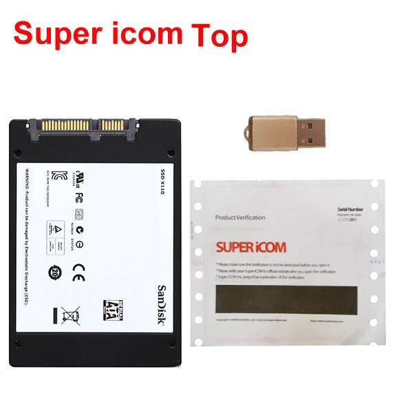 Super iCOM Top SSD ISPI NEXT 2017-08 Win 7 Update online