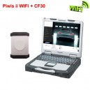 Piwis II Wireless tester with Panasonic CF30 Laptop