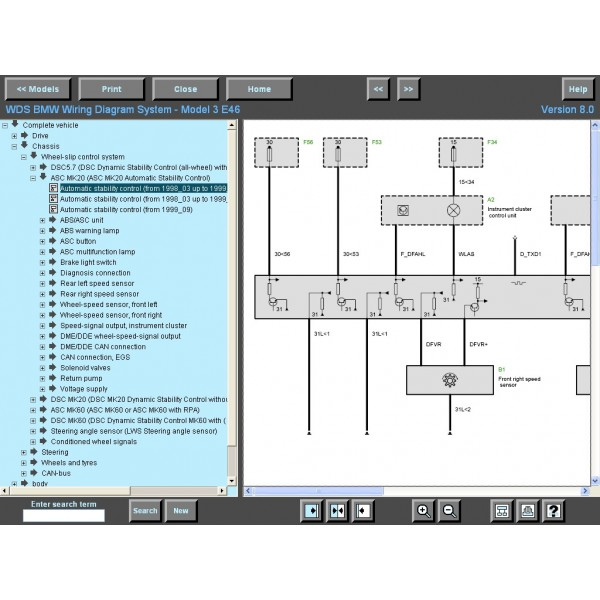 [EQHS_1162]  BMW WDS V14 Wiring Diagram System Software DVD | Wds Bmw Wiring Diagram System |  | OBDRESOURCE.com