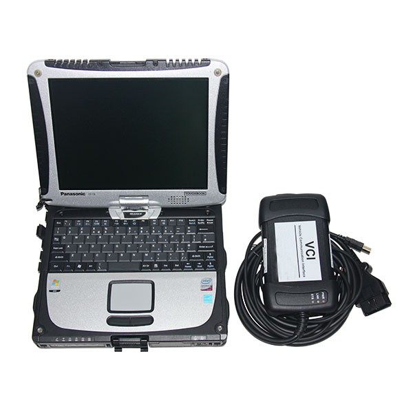 JLR VCI3 Interface with Panasonic CF19 Touchscreen Laptop