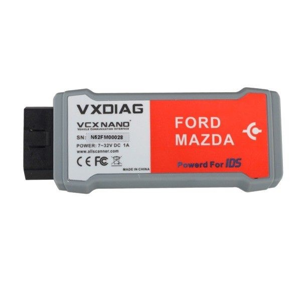 VCX NANO IDS V100.01 for Ford/Mazda 2 in 1 Allscanner VXDIAG
