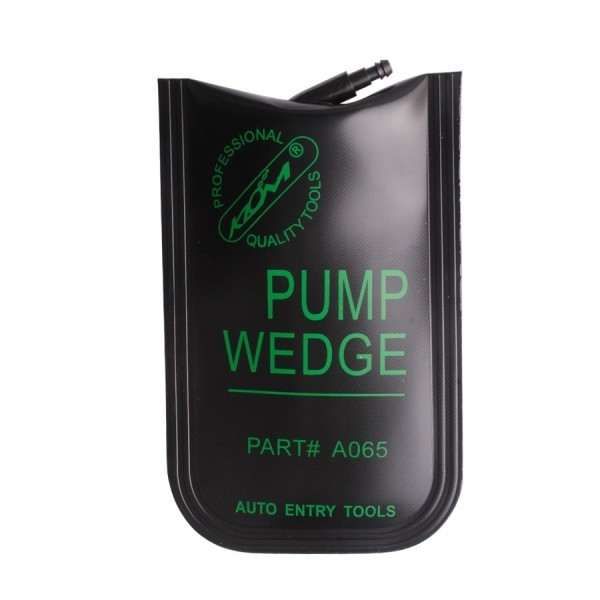 KLOM PUMP WEDGE Airbag Universal Air Wedge Small Type (Black)