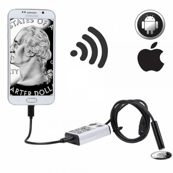 Phone WiFi Endoscope For Andriod/IOS Wireless HD 720P Waterproof