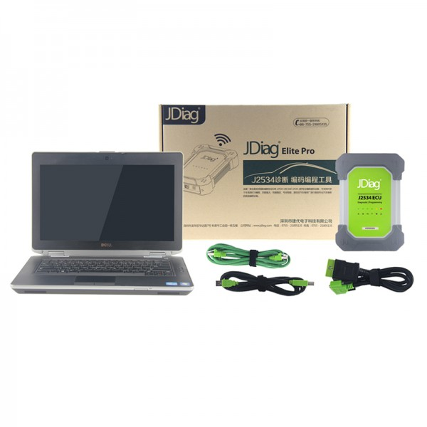 JDiag Elite II Pro With Dell E6430 Laptop 4G RAM i5 CPU