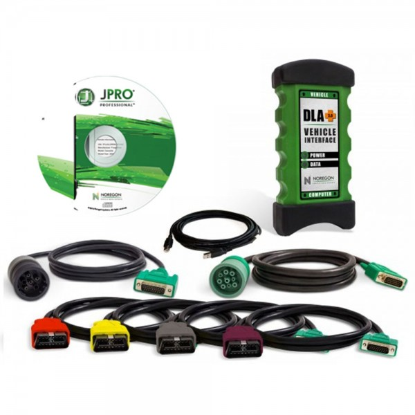 JPRO Professional Diagnostic Toolbox For Heavy & Medium-duty Trucks