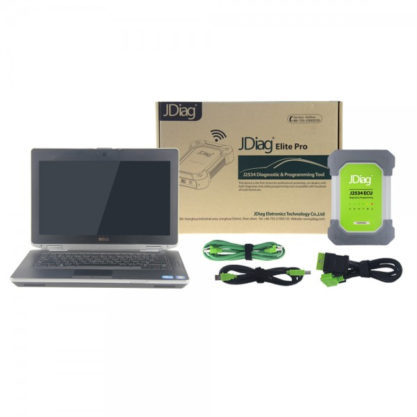 GM JDiag Elite II Pro With Dell E6430 PC 4G RAM i5 CPU 160GB SSD