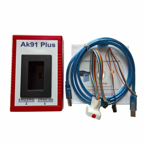 BMW AK91 Plus Key Programmer V4.00 for All BMW EWS Incl EWS4.4