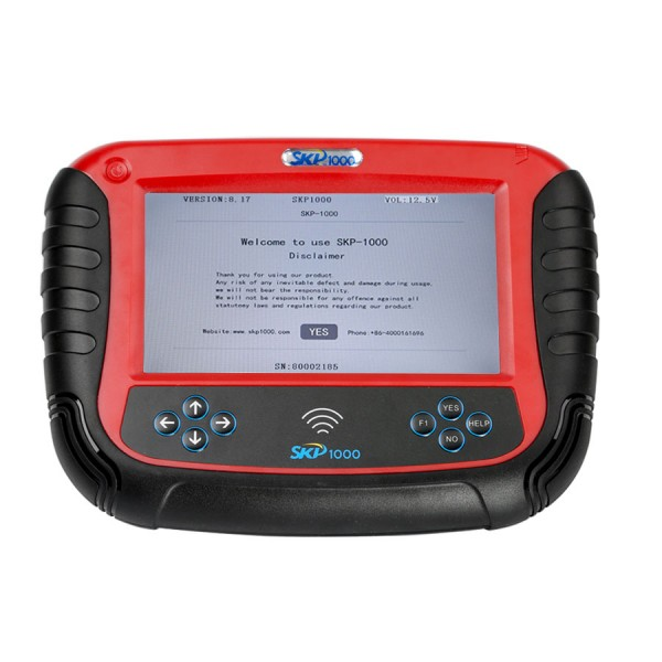 SKP1000 V8.19 Tablet Auto Key Programmer With Special Functions