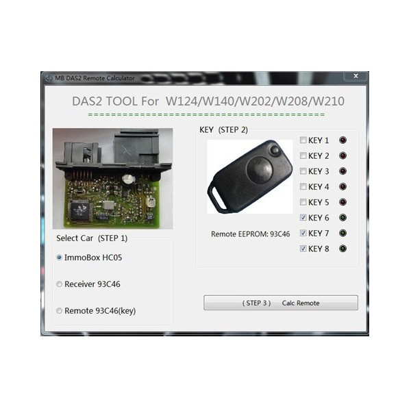 mercedes benz das2 immobilizer remote calculator