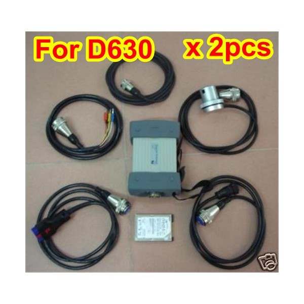 MB Star Scanner 2015.12 for Dell D630 -2pcs