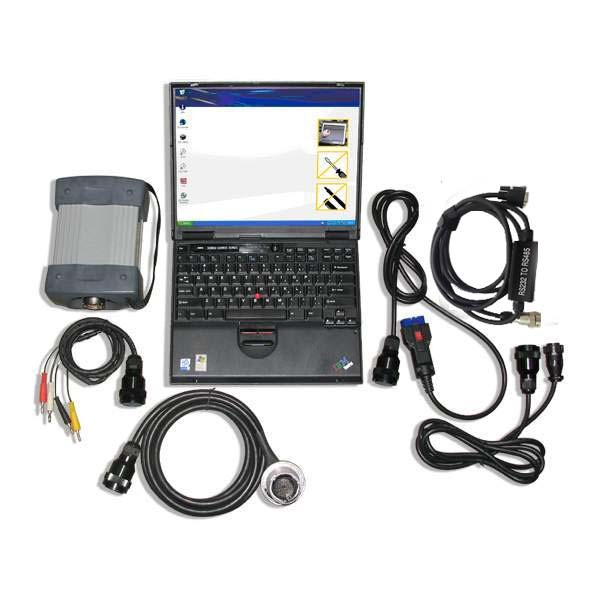 mb star with ibm t30 laptop whole package