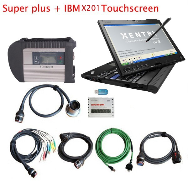 Super MB Star Plus with Lenovo X201T Touch Screen Laptop A