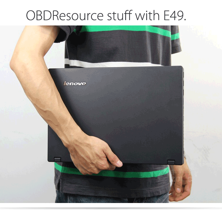 OBDResource stuff with e49 laptop