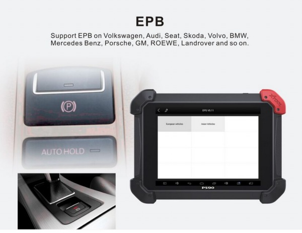 PS90 Tablet Scanner EPB