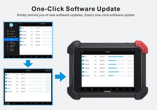 PS90 Tablet Scanner Update