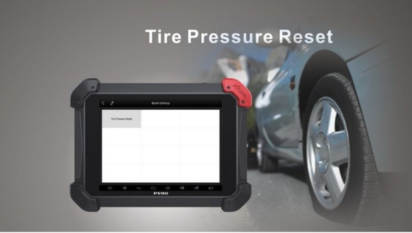 PS90 Tablet Scanner Tire Pressure Reset