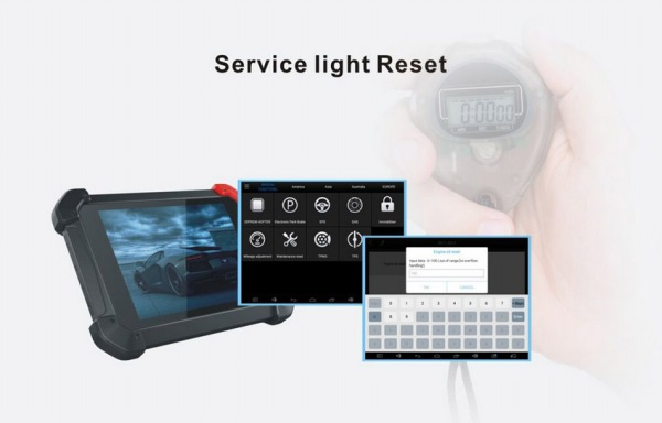 PS90 Tablet Scanner Service Reset
