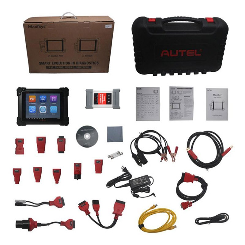Autel MaxiSys Pro MS908P whole package