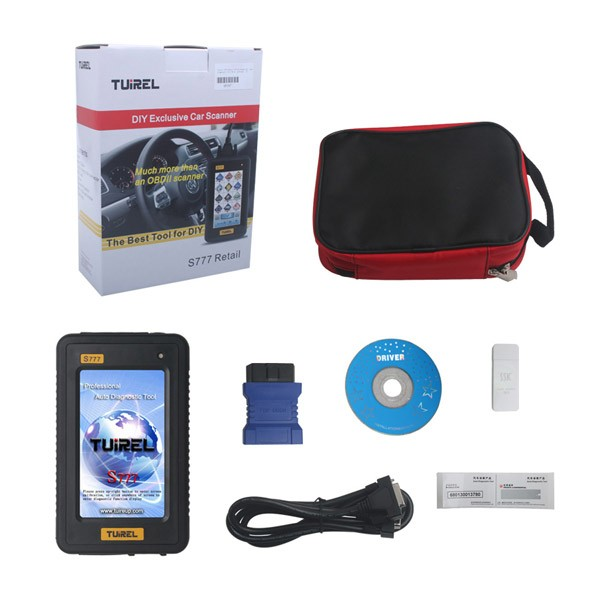Tuirel S777 Retail DIY Professional Auto Diagnostic Tool With Full Software whole package