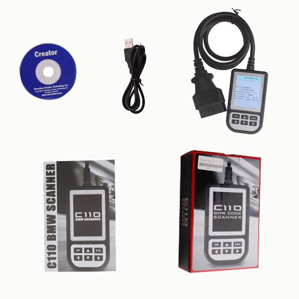BMW Code reader C110 whole package