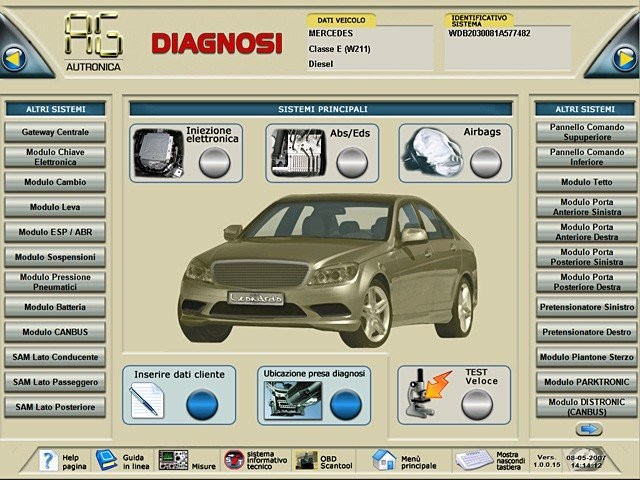 Leonardo Diagnostic Tool