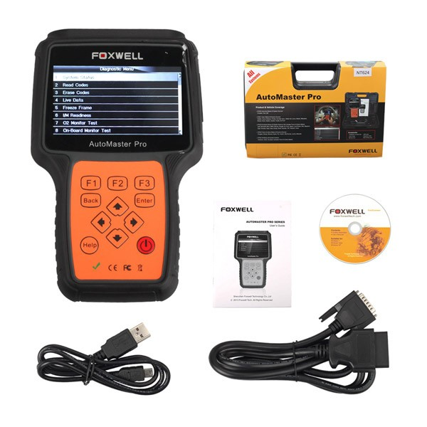 Foxwell NT630 AutoMaster Pro ABS Airbag Reset Tool