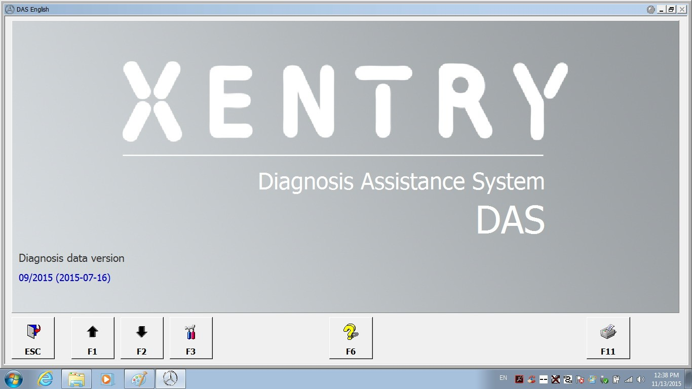 DAS Xentry Win7 SSD FOR SD C4 xentry