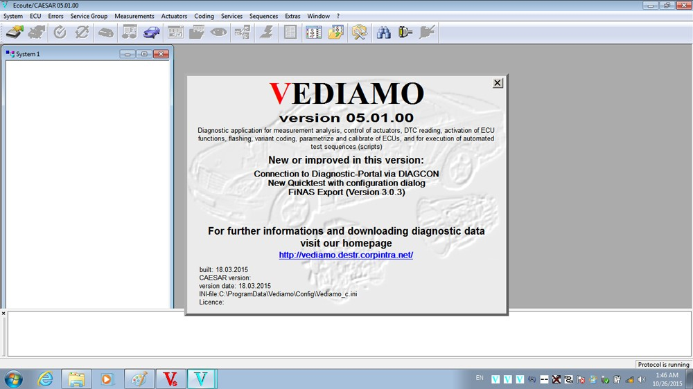 DAS Xentry Win7 HDD FOR SD C4 vediamo V5.01.00